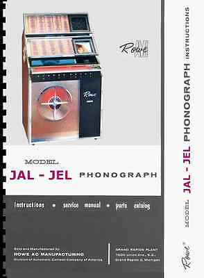 ROWE / AMI Model L, JAL-200 Jukebox Service Manual