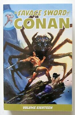 The Savage Sword of Conan Vol. 18 NEW Dark Horse Graphic Novel Comic Book