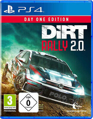 PS4 Dirt Rally 2.0 Day One Edition NEU&OVP Playstation 4
