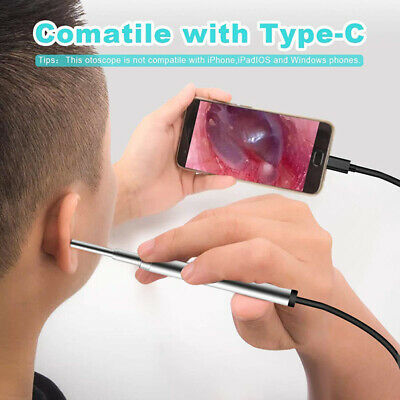 2in1 Mini Endoscope Camera 3.9MM 6 Adjustable LEDs Interface for OTG AndroBLUS
