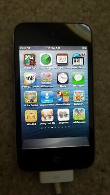 Apple iPod touch 4th Generation Black (16 GB) ENGRAVED/previous owner's name
