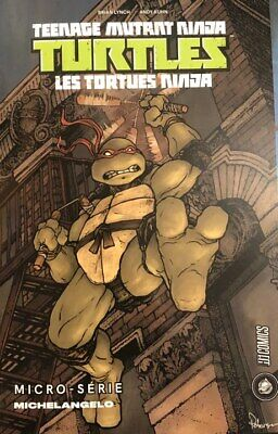 Les Tortues Ninja Micro-Serie Michelangelo Ninja Turtles Hi Comics ULTRA RARE