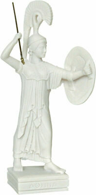 Ancient Greek Goddess Athena with Shield / 27 cm/10.62 inches/Handmade in Greece