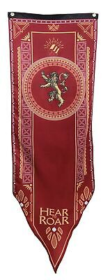 "Game of Thrones House Lannister Sigil Tournament Banner (19""x60"") Free Shipping!"