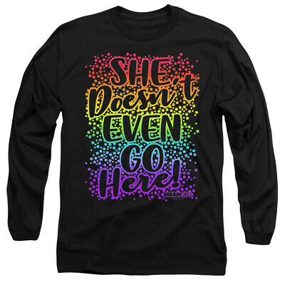 MEAN GIRLS DOESNT GO HERE Classic Movie Quote Mens Womens Kids Long Sleeve Shirt