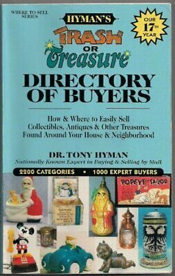 TRASH OR TREASURE DIRECTORY OF BUYERS: HOW AND WHERE TO EASILY By Tony Mint