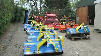 Zanon 1.3m TML Flail Mower Grass Cutter.Suit Compact Tractor.Other sizes stocked