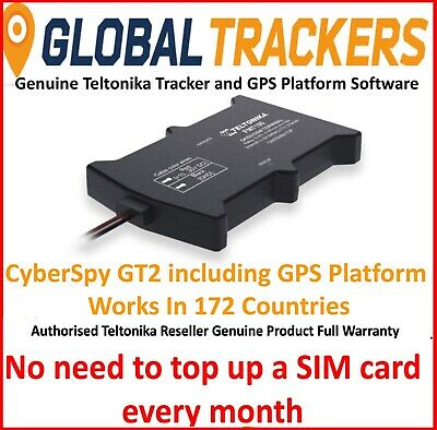 CyberSpy GT2 Car Tracker, Full Vehicle Tracking Bundle, Includes GPS Software