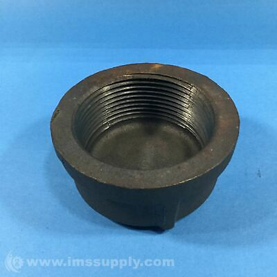 "Ward 2-1/2"" Iron Pipe Cap, SCH, 40, M.I. USIP"