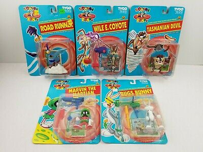 Looney Tunes BUGS BUNNY TAZ MARVIN MARTIAN WILE COYOTE ROADRUNNER 1993 TYCO TOYS