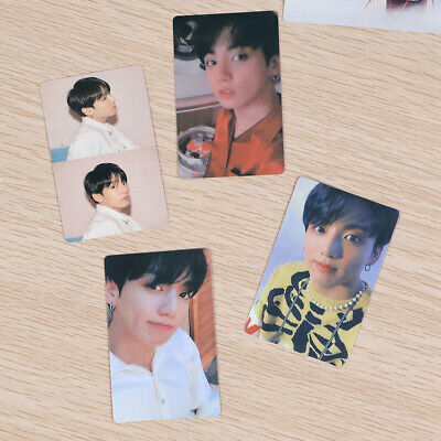 2019 J-hope 4pcs/Set Kpop BTS Map of The Soul:Persona Paper Photo Card Photocard