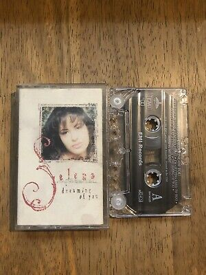 Selena - Dreaming Of You Cassette Tape 1995 EMI Latin RARE Tested & Plays Great!