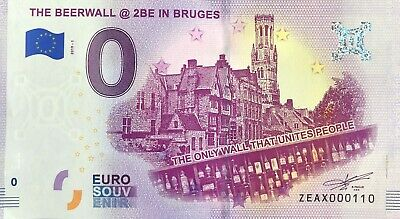 Billet The Beerwall @ 2Be In Bruges 2019-1 Numero Divers