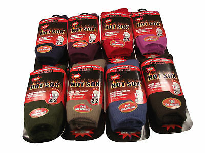 2Pairs  Mens Ultimate Thick Hot Winter Warm Thermal Socks Ultimate Heat 2.3 TOG