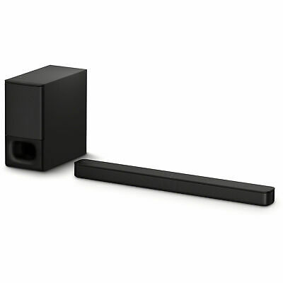 Sony HTS-350 2.1 Channel 320W Bluetooth Soundbar with Wireless Subwoofer