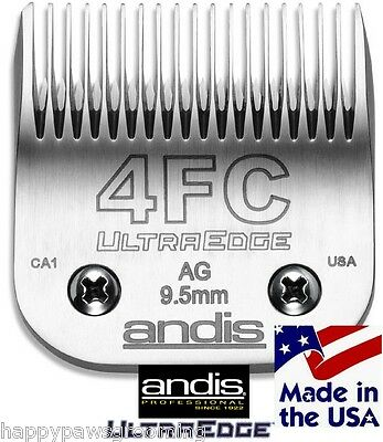 "ANDIS AG/A5/BG ULTRA EDGE 4FC 4F BLADE 3/8""-9.5mm Fit Most Oster,Wahl Clippers"