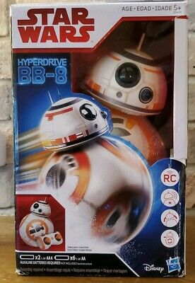 NEW Star Wars Hyperdrive BB-8 The Last Jedi Remote Control Robot NEW IN BOX