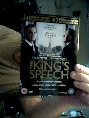 The Kings Speech Colin Firth   Dvd Ideal Birthday  Gift
