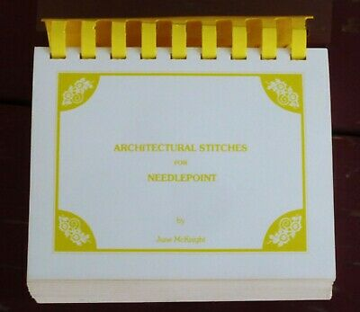 Architectural Stitches for Needlepoint June McKnight 1993