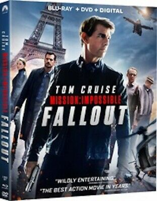 Mission: Impossible: Fallout Blu-Ray + Dvd Used — No Digital Code!!!