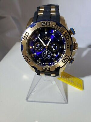 Invicta Men's 50mm Pro Diver Scuba Quartz Chronograph Polyurethane Strap Watch