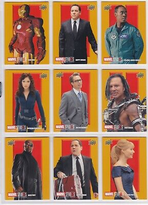 Marvel The First Ten (10) Years, Roman Numerals II Chase Card Set RN10-18