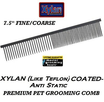 """Master Grooming Tools Pro Xylane (comme Teflon) Fine Gros """" Greyhound """" Style"""