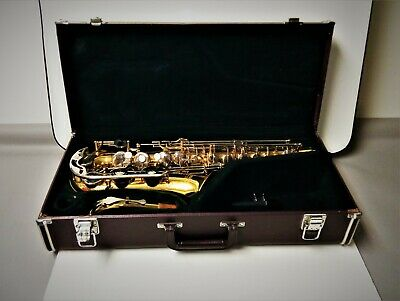 Yamaha YAS 23 Student Alto Saxophone With Hard Shell Case Ready To Play