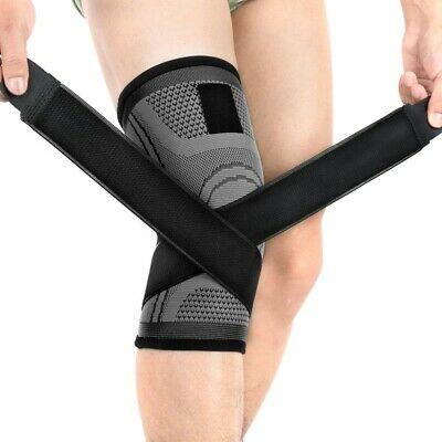 Knee Brace Support Compression Sleeve Sports Joint Pain Arthritis Relief Wrap
