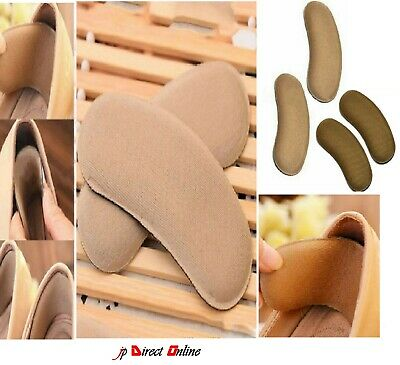 10 Pairs Extra Sticky Fabric Shoe Heel Grips Inserts Insoles Pads Cushion Strong