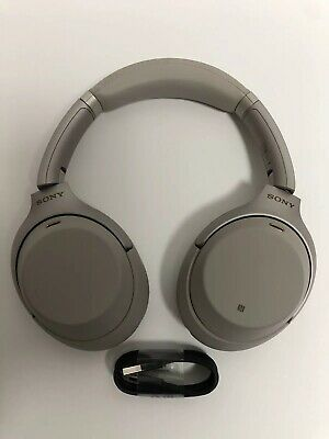 Sony Wh-1000XM3 Noise Canceling Wireless Bluetooth Headphones Silver 1000XM3