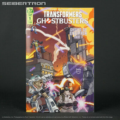 TRANSFORMERS GHOSTBUSTERS #1 Cover A IDW Comics Ghost of Cybertron 1A 2019