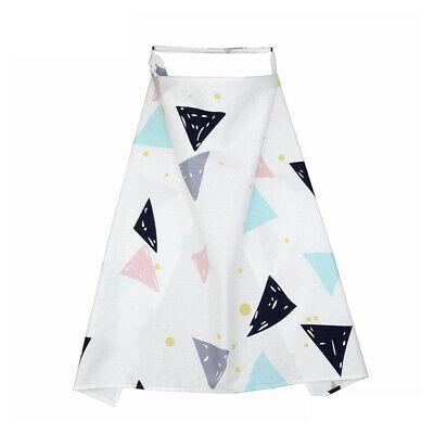 Outdoor Privacy Adjustable Nursing Cover Cotton Blend Poncho Baby Feeding Shawl