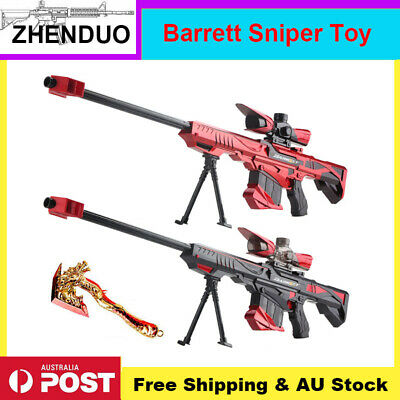 Automatic Gel Ball Blaster Toy Sniper Gun Water Bullets Hopper-mag AU Stock