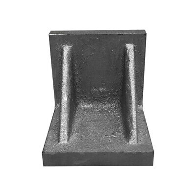 "Webbed End 5"" x 5"" x 5"" Ground Angle Plate High Tensile Cast Iron"