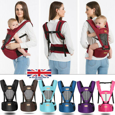 UK Baby Carrier Infant Kid Baby Hipseat Sling Front Kangaroo Baby Wrap Carrier