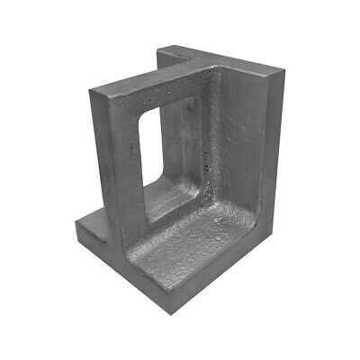 "3-3/4""x 4""x 5"" Ground Universal Right Angle Plate Cast Iron 0.0005"" Per 6"""