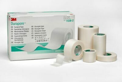 3M Durapore Medical Tape 1538-2, 5cm x 9.14m 6 rolls/box
