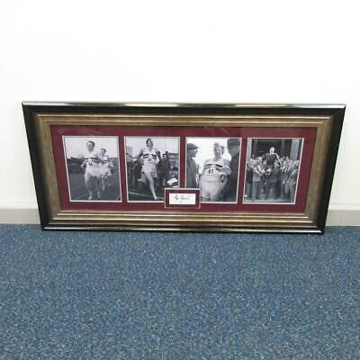 Roger Bannister Photo Prints - Four Framed as One - Hand Signed with Certificate