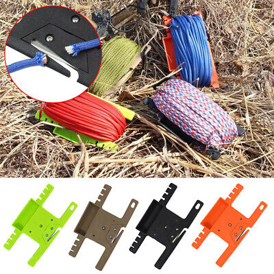 Bracket Rope Winder Supplies Multifunction Parachute Cord Tool Accessories