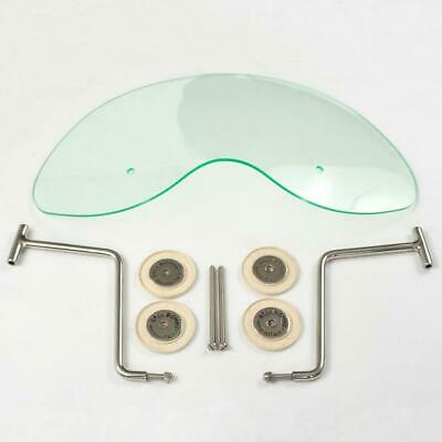 Royale Biemme Flyscreen in Translucent Light Green for Lambretta Series TWO 2