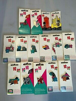 Job Lot 15 London 2012 Olympics Collectable Limited Edition Pin Badges
