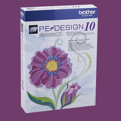 Brother PE Design 10 Embroidery Full Software+ Gift📥