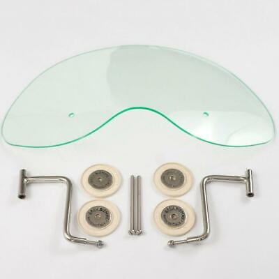 Royale Biemme Flyscreen in Translucent Light Green for Lambretta Series ONE 1