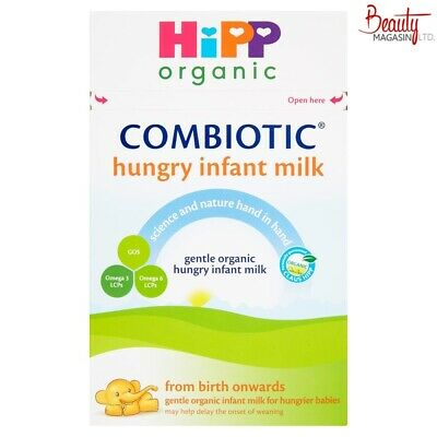 HiPP Combiotic Hungry Infant Milk Formula 800g Free ship to US