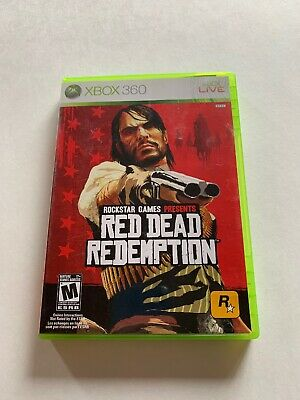 Red Dead Redemption (Microsoft Xbox 360) Game, Case, & Book + Map