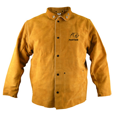 Parweld Panther Leather Welders Jacket Protective Clothing Welding Mig/Tig P3788