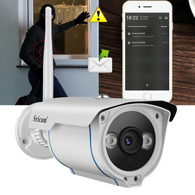 Sricam HD WiFi 1080P Wireless IP Network CCTV Camera Outdoor Home Security Onvif