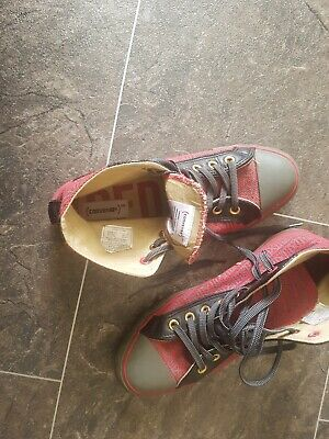 RARE CONVERSE ALL Star Cuir Collector Vintage T 39 Be A 12