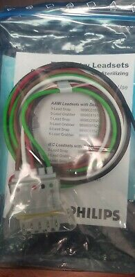 Philips 5 Lead Snap Set AAMI Telemetry Leadsets 989803152071
